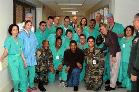 Denzel Washington..A Caring Man