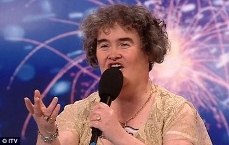 Susan Boyle of GB
