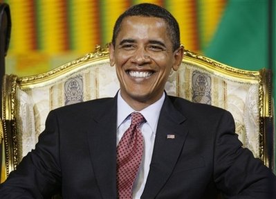 King O on the throne of Africa