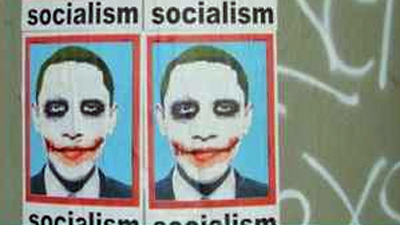 Obama As Joker Or Al Jolson?